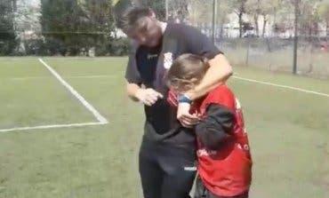 El enorme gesto de las jugadoras infantiles del C.D. Avance de Alcalá de Henares