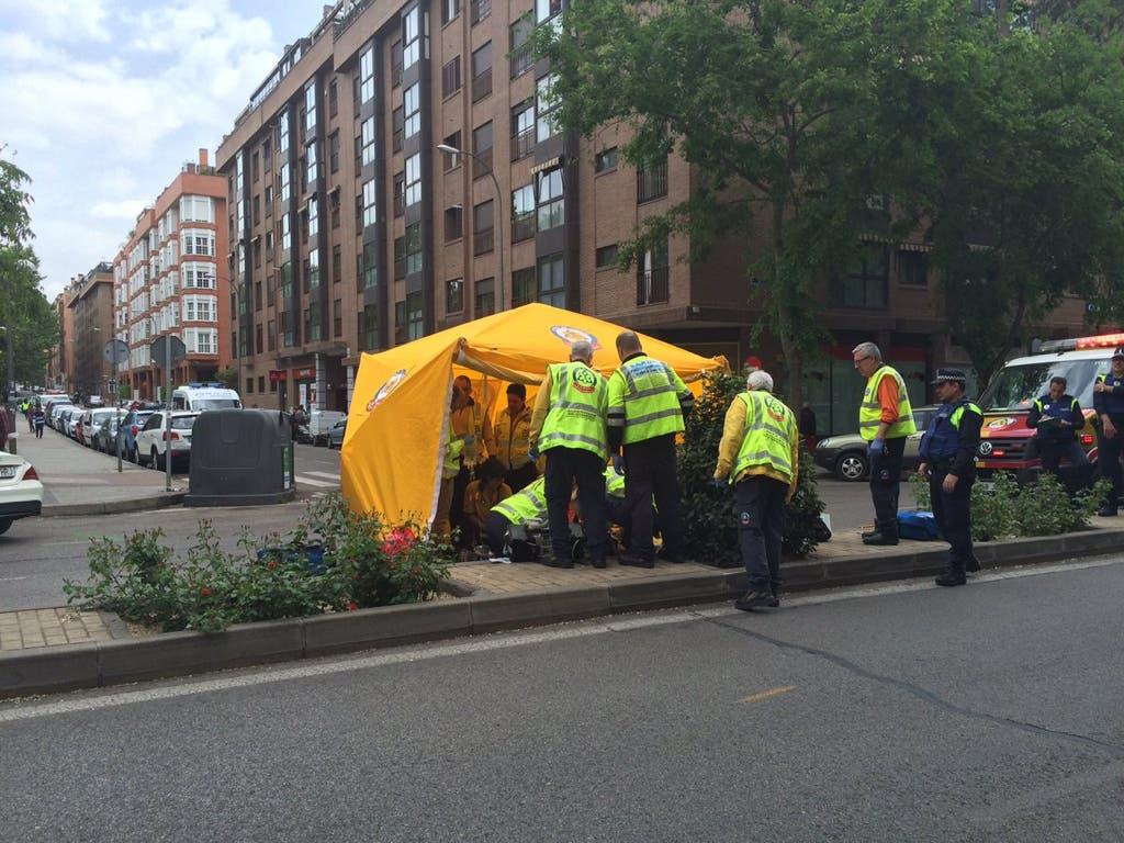 Atropello mortal en Madrid