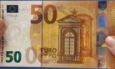 Entra en circulación el nuevo billete de 50 euros