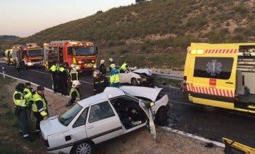Un accidente en la M-311 deja dos heridos graves