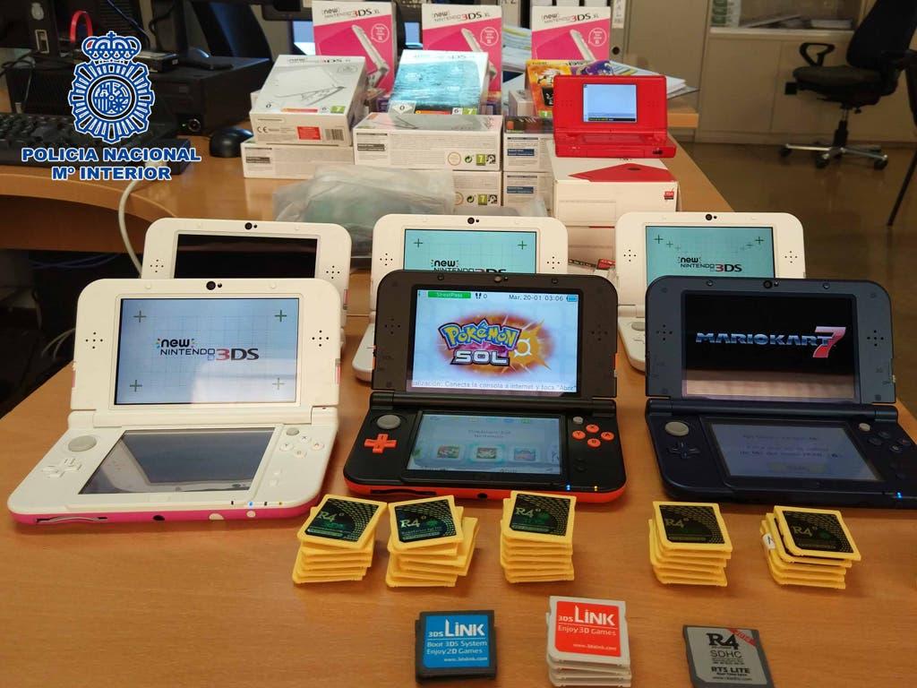 Detenido en Madrid por vender más de 200 consolas cargadas con juegos pirateados