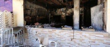 Una explosión en un bar de Coslada obliga a desalojar a los vecinos