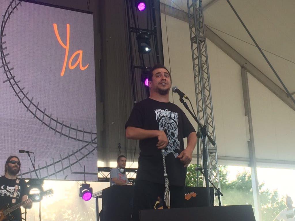 El Langui en el Urban Festival de Torrejón.