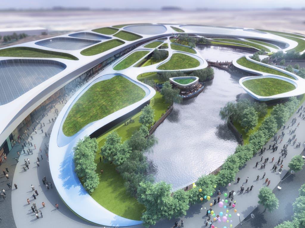 Las obras del centro comercial Open Sky de Torrejón comenzarán en mayo