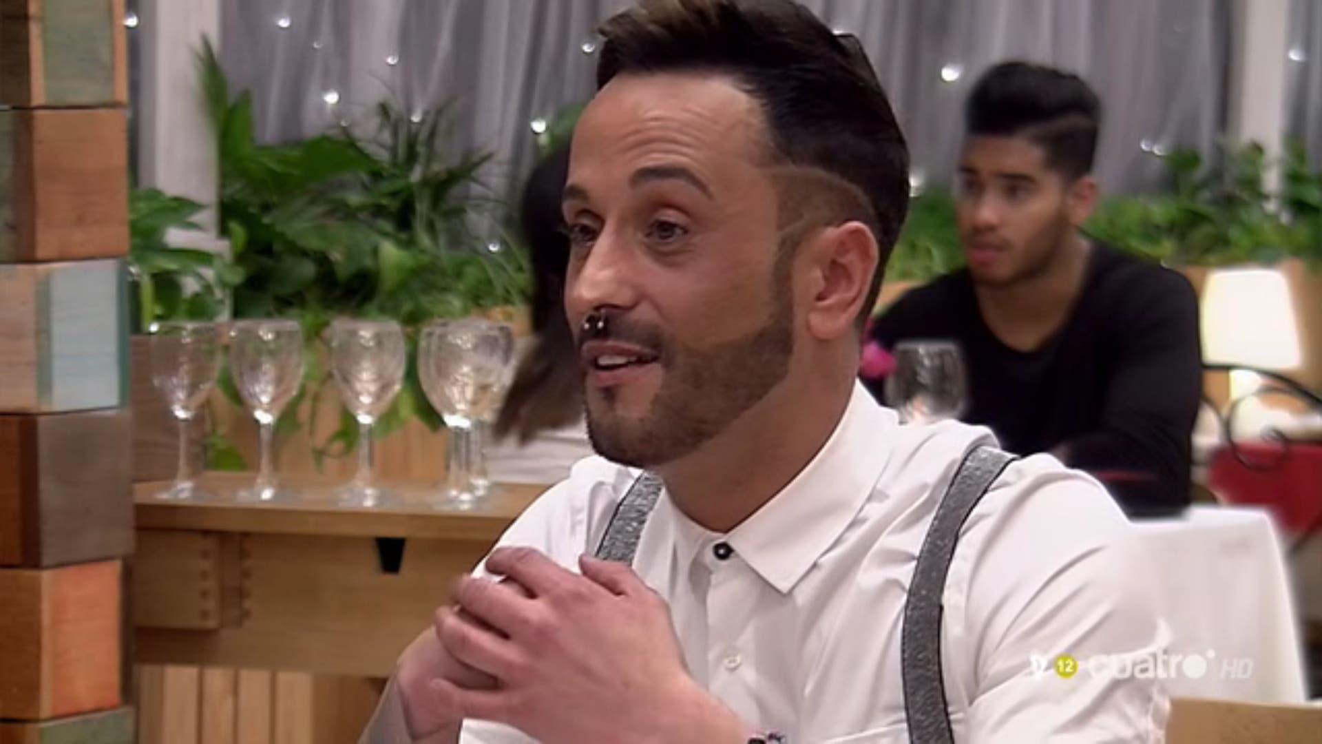 Pedro en First Dates (Cuatro).