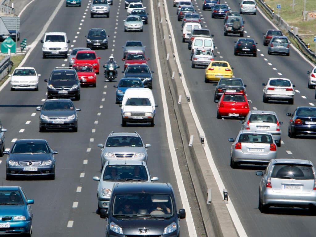 Las peores horas para coger el coche en Madrid esta Semana Santa