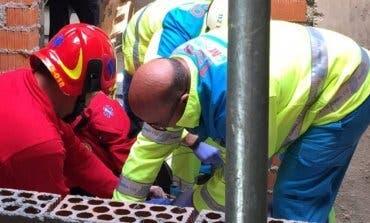 En estado critico un trabajador tras caer desde 8 metros de altura