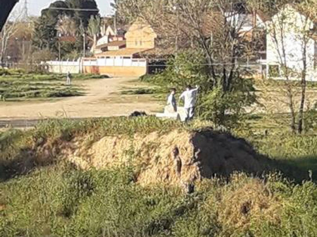 Los vecinos de Velilla denuncian el abandono del solar donde ocurrió la tragedia