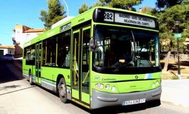 Se amplían los horarios de la línea de autobús 282