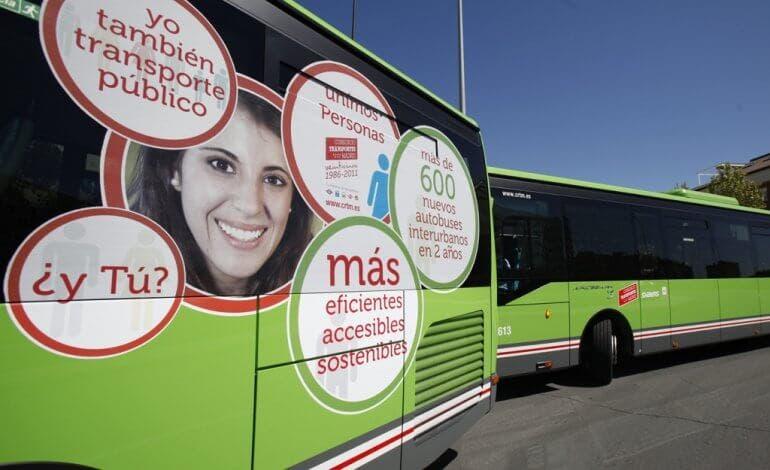 Desde hoy se refuerza el servicio de autobuses en el Corredor del Henares