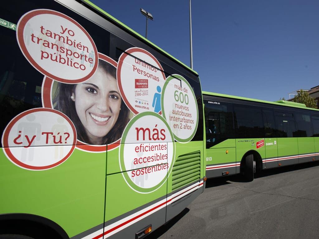 La Comunidad financiará el transporte a parados que hagan cursos de formación