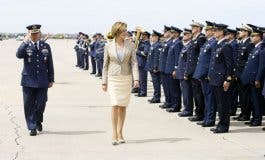Cospedal visita el nuevo Centro de Operaciones de la OTAN en Torrejón