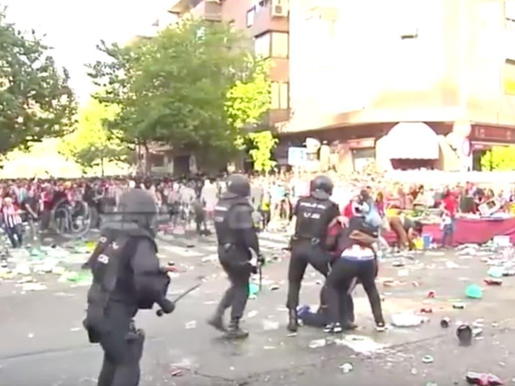Detenidos en Coslada por los altercados del último derbi madrileño