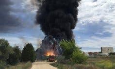 Fuerte explosión en una planta química de Arganda del Rey