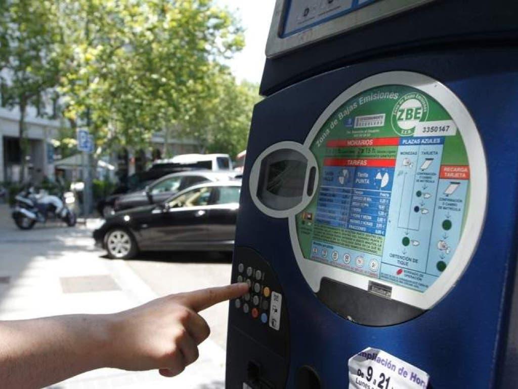 Los Parquímetros de Madrid se pagarán en función del tiempo real