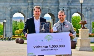 El Parque Europa de Torrejón alcanza los cuatro millones de visitantes