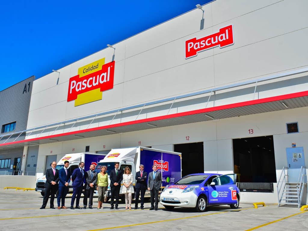 Pascual emplea en Torrejón a más de 300 personas