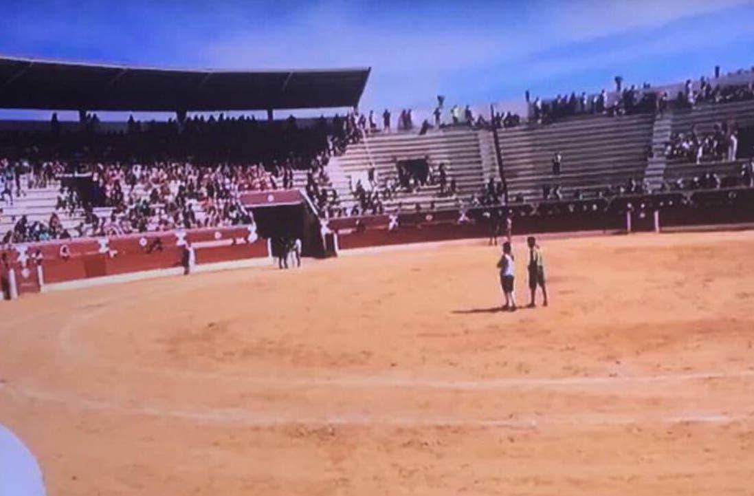 Dos heridos leves en el encierro de este sábado en Torrejón