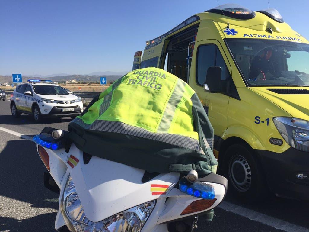 Muere una mujer en un accidente de tráfico en la M-503