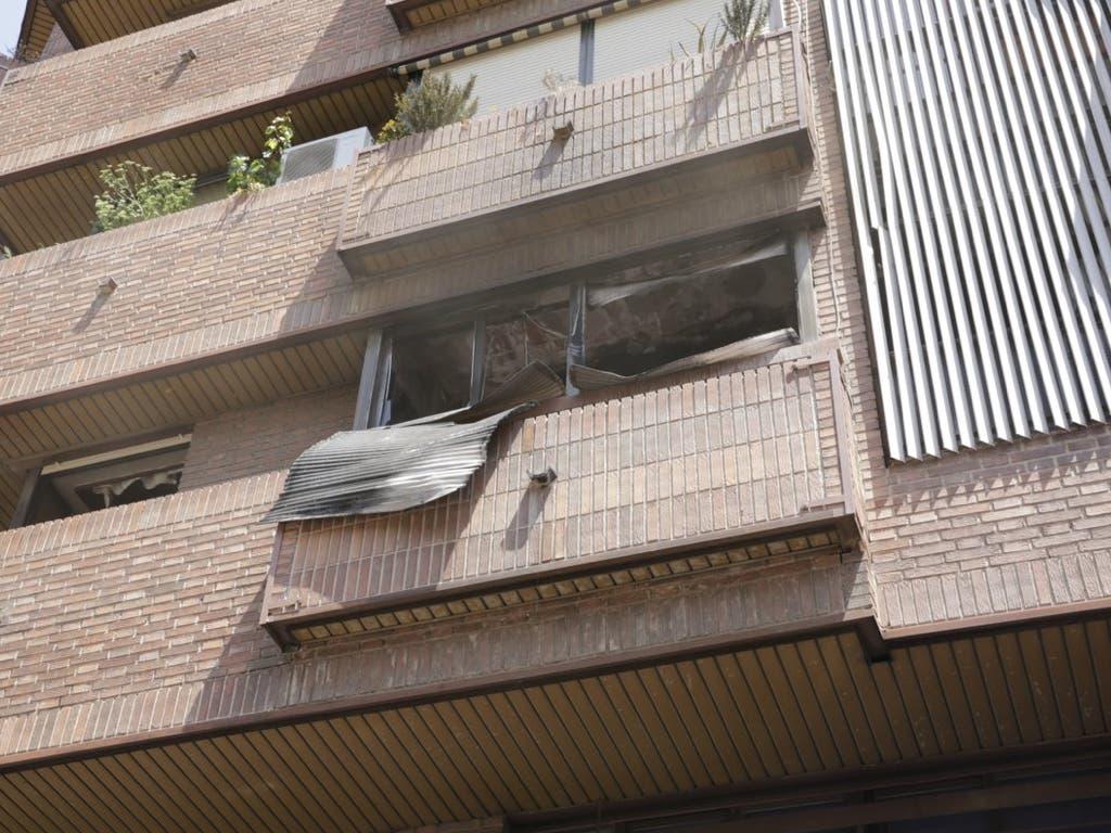 Muere una mujer de 94 años atrapada en un incendio en Madrid