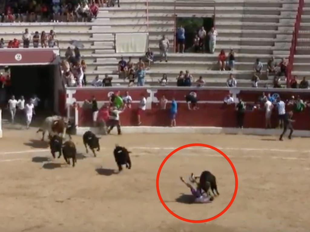 Dan el alta al joven que recibió una cornada de 20 centímetros en Torrejón