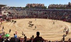 El encierro del domingo en las Fiestas de Torrejón