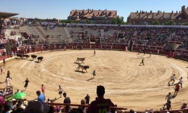 Encierro del sábado en las Fiestas de Torrejón