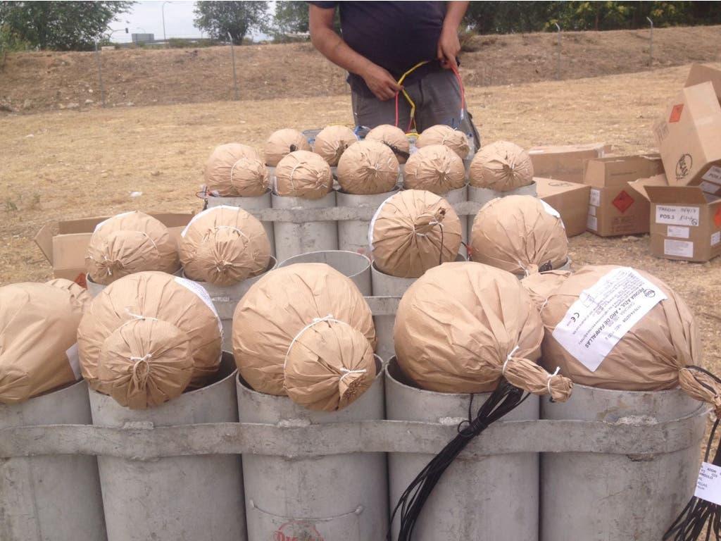 Torrejón quema esta noche más de 1.000 kilos de Fuegos Artificiales