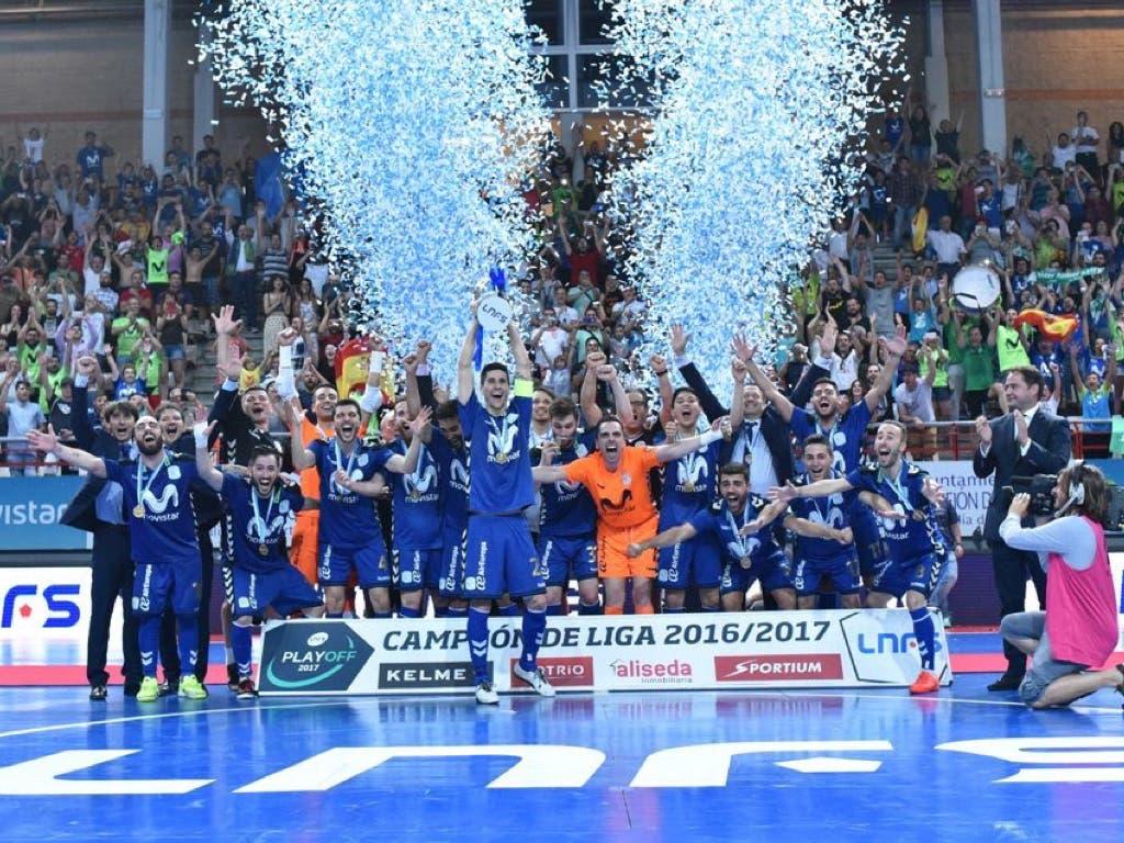 El Movistar Inter se proclama en Torrejón campeón de la Liga