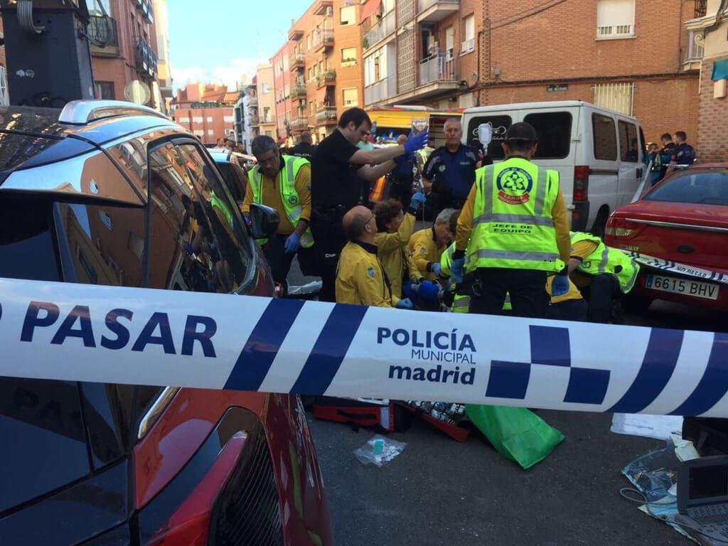 Un joven en estado crítico tras ser apuñalado en Madrid