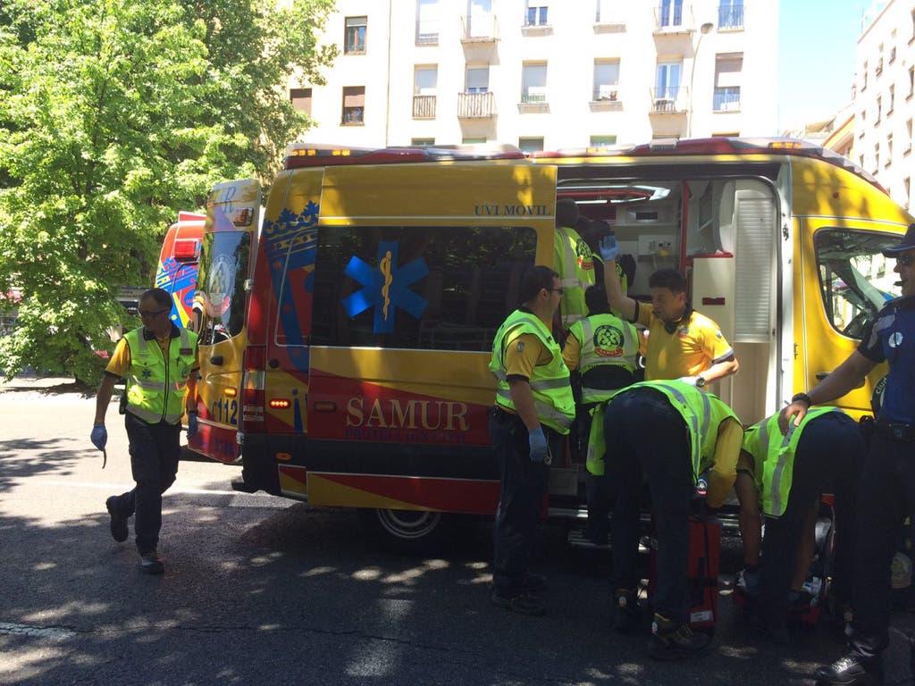 Herida muy grave una mujer de 80 años tras ser atropellada en Madrid