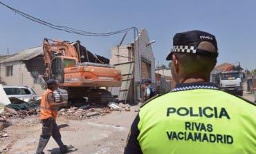 Rivas alerta del efecto llamada en la Cañada a raíz de su asfaltado