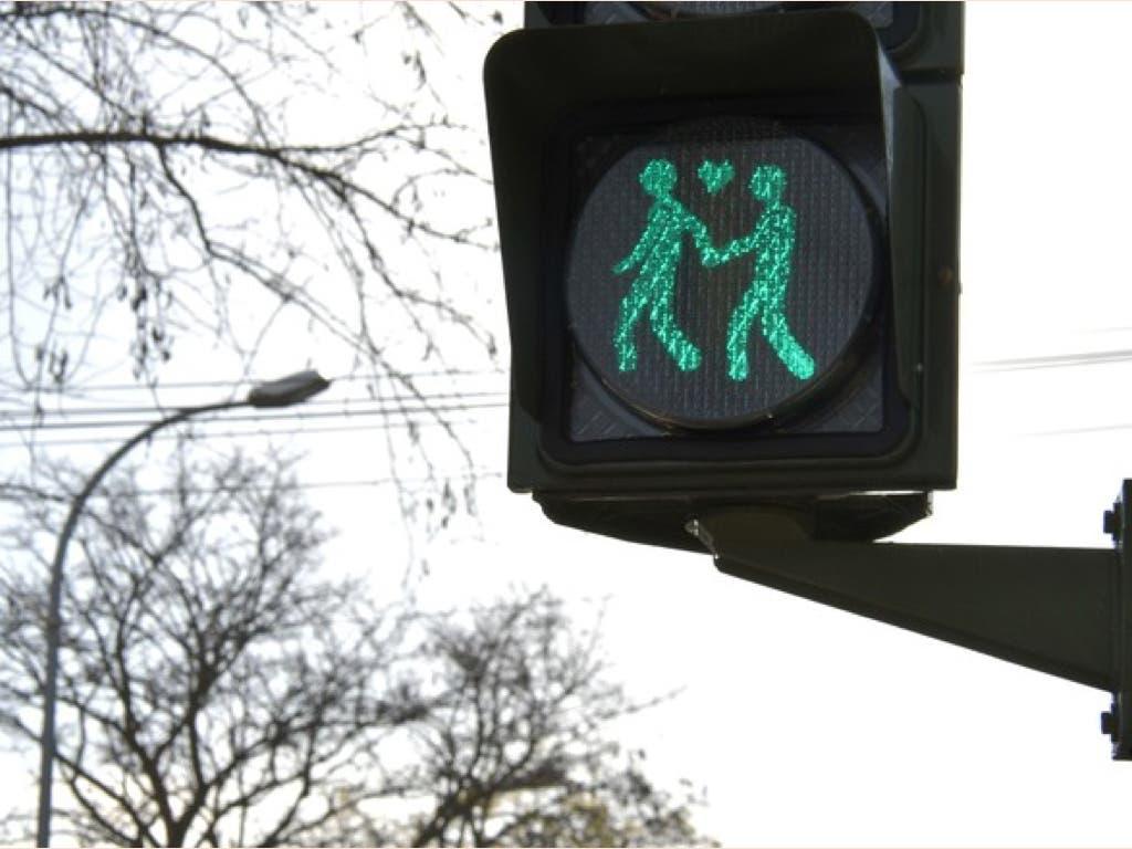 Madrid instalará semáforos gay friendly durante el Orgullo