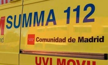 Herido grave un motorista al sufrir una caída en la M-30