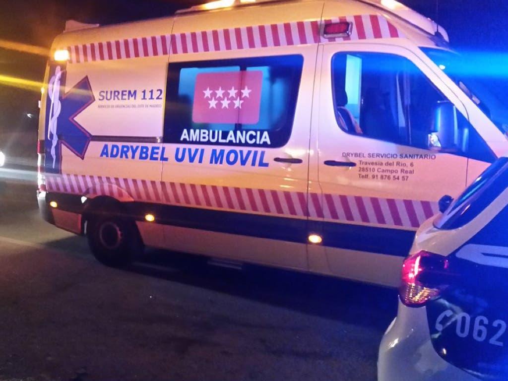 Un misterioso accidente de moto en Ambite