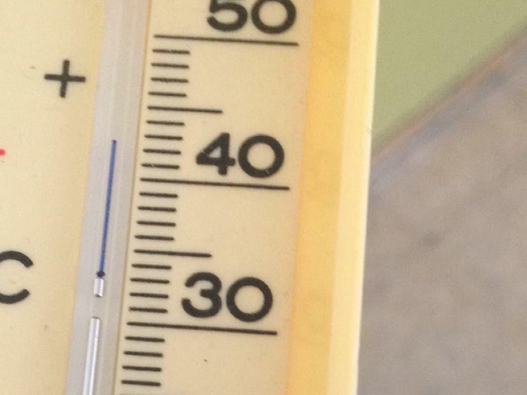 Termómetros en las aulas.