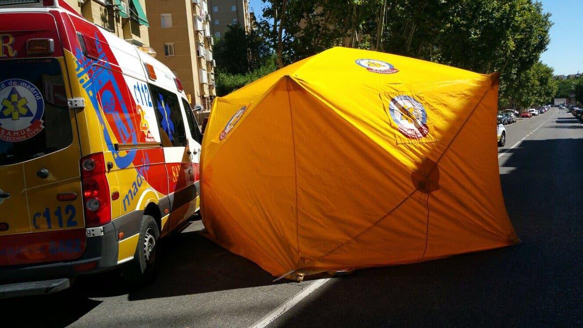 Imágenes del suceso (Emergencias Madrid)