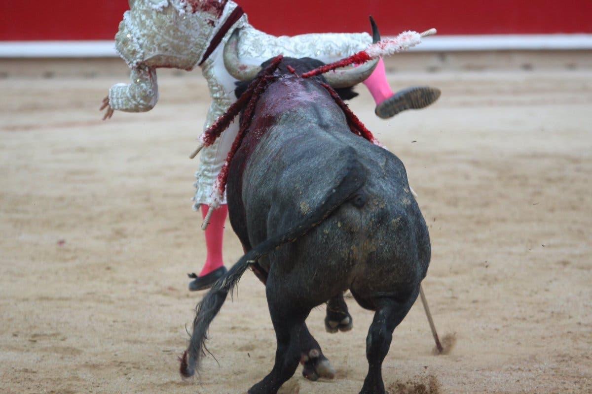 El torrejonero Gonzalo Caballero evoluciona bien de la cornada sufrida en San Fermín