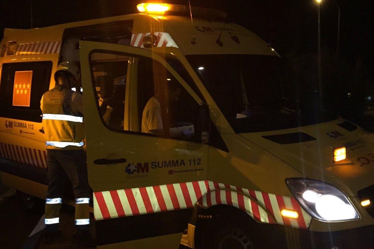 Dos muertos en un accidente en San Sebastián de los Reyes