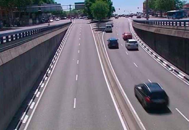 Cierra por obras el túnel de la Glorieta de Atocha