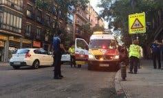 Herida grave una anciana al ser atropellada por una moto en Madrid