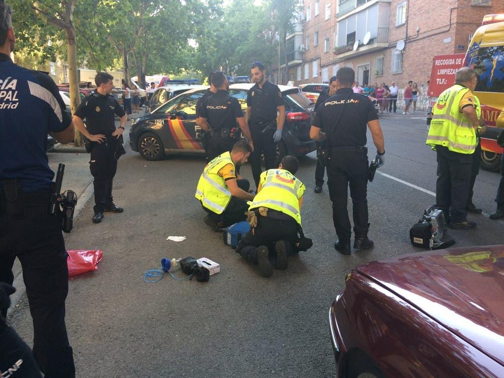 Muere una mujer de 57 años atropellada por un coche en San Blas