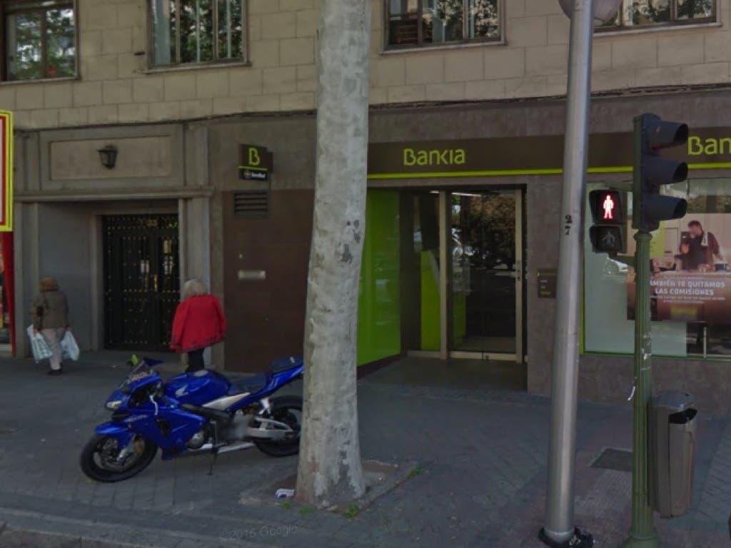 Atraco en una sucursal de bankia en madrid for Oficinas de bankia en madrid