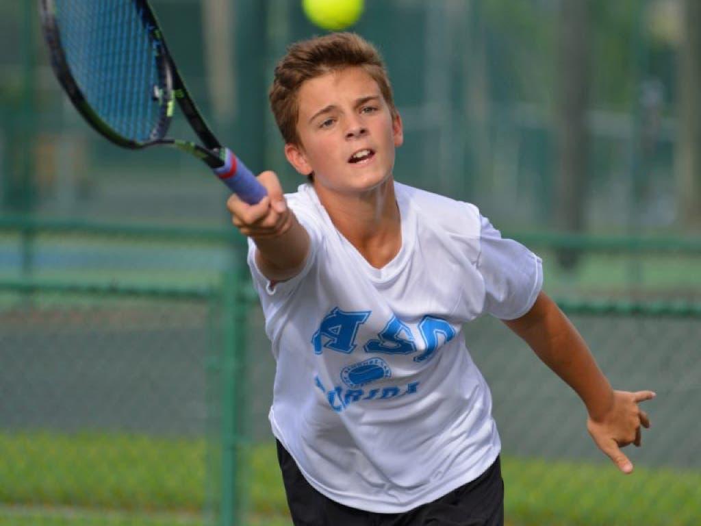 Luto en el tenis madrileño por la muerte del joven Cásper Fernández