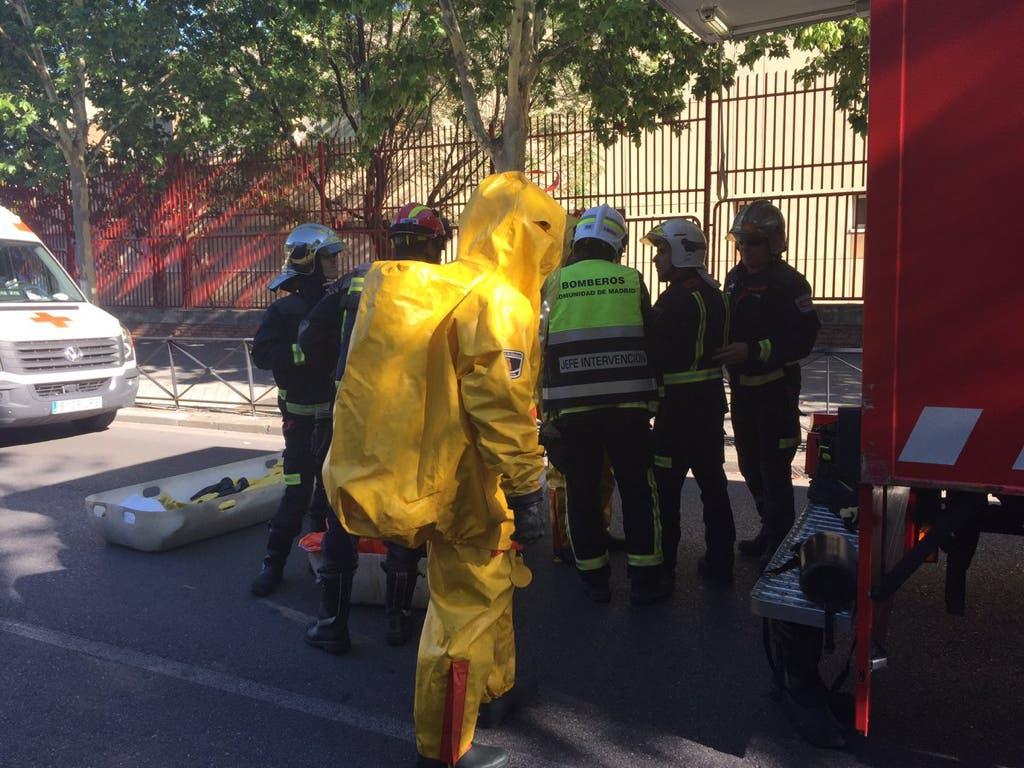 Un escape de cloro deja 17 intoxicados en una piscina de Madrid