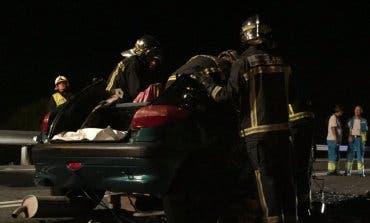 Muere un joven de 28 años en un accidente en Daganzo de Arriba