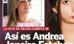 Descubren el rostro de Andrea Janeiro, a quien ya conocían en Paracuellos