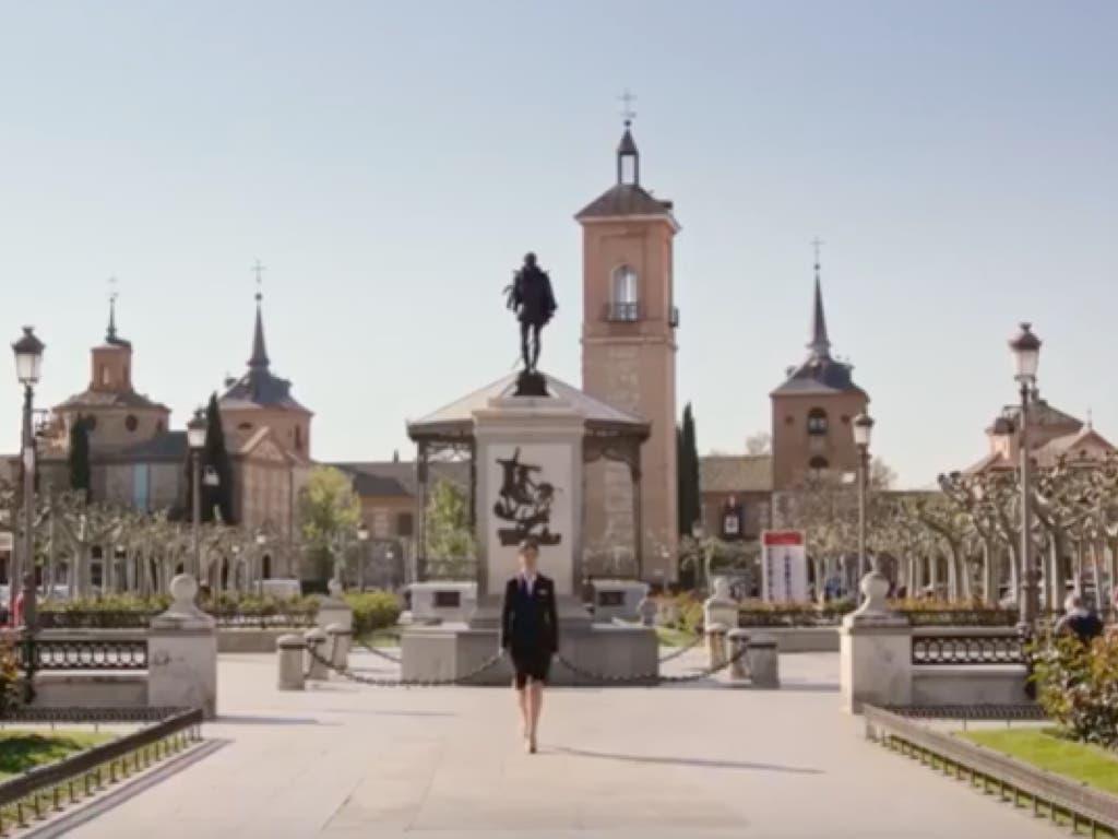 Alcalá de Henares, en los vuelos internacionales de Iberia