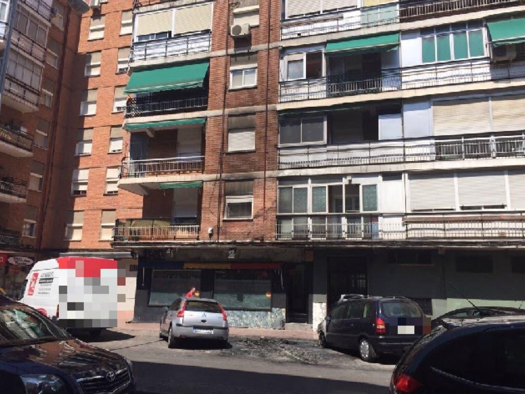 La fachada del edificio afectada por el humo (MiraCorredor.tv).