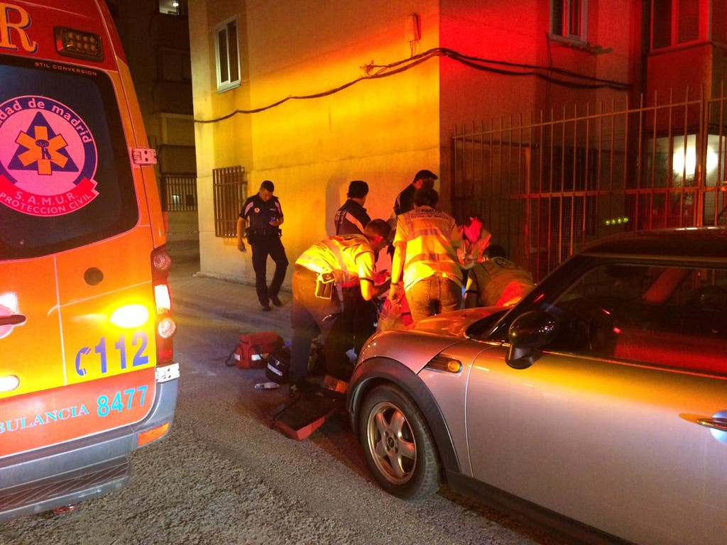 Herido grave un joven tras ser apuñalado en Ciudad Lineal